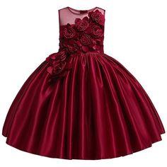 Girls Formal Dresses, Wedding Dresses For Girls, Girls Party Dress, Toddler Girl Dresses, Elegant Dresses, Girl Toddler, Dress Girl, Toddler Tutu, Work Dresses