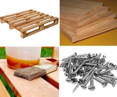 Cómo construir un deck paso a paso con palets Palet Exterior, Indoor Garden, Barware, Patio, Ideas, Zero Waste, Birds, Image, Gardens
