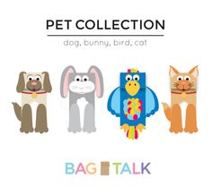I design and sell these PET printable paper bag puppet templates and others on my etsy shop. They make for an easy, cheap, and fun kids craft. Please share!