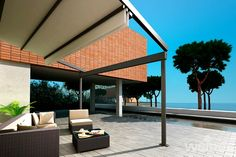 Retractable Roof Systems | Canopies | Louvred Roof | Samson Awnings