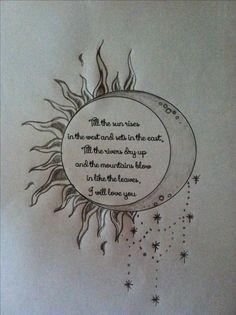 Estaría cool si las estrellas formaran el sol en la luna