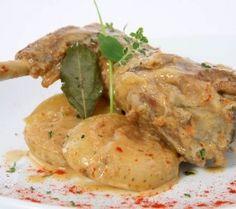 Leg of lamb in the oven - Cuixa de xai al forn - Gastroteca.cat