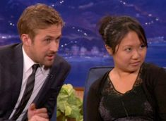 Ryan Gosling Drafts An Interview Buddy From The Audience @ TeamCoco.com