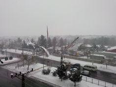 Diyarbakır da kış . aralık 2013