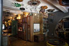 #Steampunk decor ideas