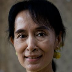 Aung San Suu Kyi is an opposition leader in her home country of Myanmar and the winner of the  1991 Nobel Prize for Peace