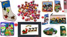 Varios artículos para navidad, contactos al 2224675 artesania@peru-art.com