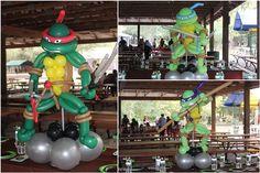 boy's Teenage Mutant Ninja Turtle birthday party www.spaceshipsandlaserbeams.com