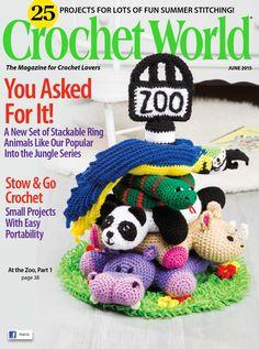 Crochet world june 2015 Free dl