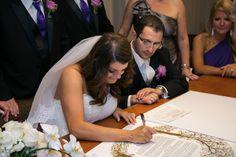 Jewish Wedding Ketubah Signing Ceremony {Bradley Images} - mazelmoments.com