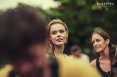 Frida Gustavsson- a model and Karin Smeds- stylist, Backstage SS14 http://www.reserved.com/pl/pl/campaign/street-fashion-woman