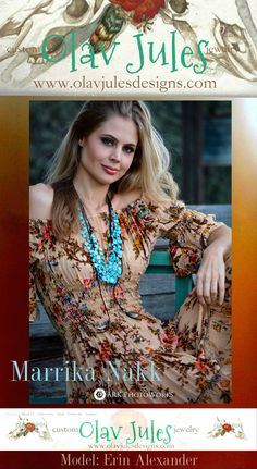 Jewelry: Olav Jules Designs by Cat Sandstrom Marrik Nakk Romantic Western/Boho Dresses ARK PhotoWorks Model: Erin Alexander