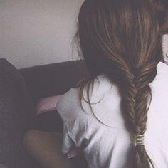 fishtail pony #fishtail #braid #hair