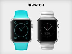 Apple Watch - Mockup & Custom UI