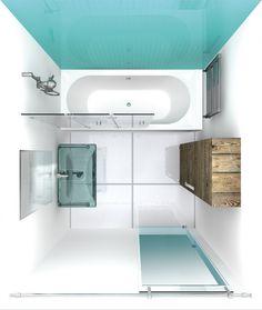 Badezimmer Kleine-badezimmer-gestalten-kleines-Badezimmer-Spaß