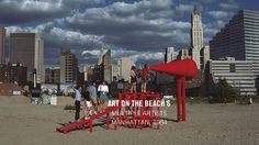Art on the Beach 6 - Creative Time Manhattan, New York Skyline, Contemporary Art, Beach, 1984, Creative, Artist, Image, Instagram