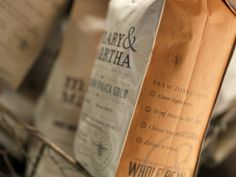 Mary & Martha Blend Coffee: $18. Help Missionaries with M&M's coffees.