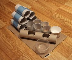 DIY Puzzle Feeder for Cats