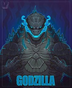 All Godzilla Monsters, Cool Monsters, King Kong Vs Godzilla, Godzilla Godzilla, Tiger Sketch, Godzilla Franchise, Character Art, Character Design, Godzilla Wallpaper