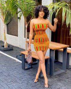 Short African Dresses, Latest African Fashion Dresses, African Print Dresses, African Inspired Fashion, African Print Fashion, Afro, Kente Dress, African Attire, Traditional Outfits