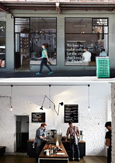 Market Lane – Therry st, Melbourne CBD.  Interior styling / design detail by Claire Larritt-Evans, photography Armelle Habib. From The Design Files.