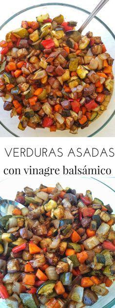 Te contamos cómo asar verduras sin aceite en el horno | Verduras asadas con vinagre | Tasty details