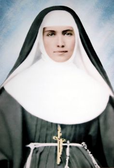 Saint Marianne Cope, declared a Saint in October 2012.   She was a German-born American who worked with St. Damien with the lepers on Molokai.