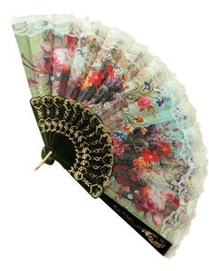 Burlesque Showgirl Dance Fancy Costume Folding Feather Hand Fan Wedding Gift TY