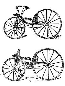 Kirkpatrick Macmillan (Born 2 September 1812 in Keir, Dumfries and Galloway; died 26 January 1878 in Keir) was a Scottish blacksmith and an ancestress of my uncle's. He is generally credited with inventing the rear-wheel driven bicycle.