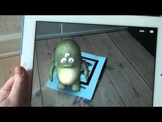 This String - Augmented Reality for iPad relates to the objects in the physical world!