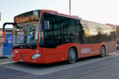 RBS MB K 21 der am vor dem Bahnhof Worblaufen steht. Busse, Coaches, Long Distance, Taxi, Mercedes Benz, Transportation, Trucks, Vehicles, Travel