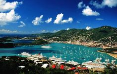St. Thomas in the U.S. Virgin Islands is one of a dwindling number of nearby destinations where Americans can travel without a passport.
