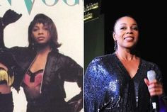 """Terry Ellis - En Vogue  Native Texan Terry Ellis is the one singer to remain with En Vogue consistently since its founding in 1988. Ellis released her solo debut Southern Exposure in 1995, finding moderate success with the singles """"Where Ever You Are"""" and """"What Did I Do To You?"""" She's best friends with actress Holly Robinson Peete. Soul Music, Beautiful Black Women, Best Friends, Southern, Success, Singer, Actresses, En Vogue, Beat Friends"""
