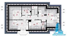 Проект жилого дома с мансардой и гаражом   Proiectari si Constructii Floor Plans, Diagram, Home, Floor Layout, Automobile, House, Floor Plan Drawing, House Floor Plans