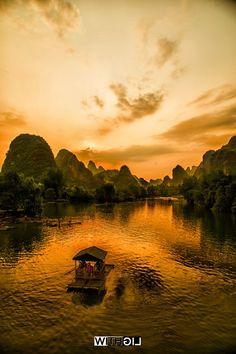 桂林山水甲天下,阳朔山水甲桂林 | by 176448971 | http://ift.tt/1KSpLZ3