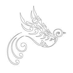 Maori Swallow Stenciljpg