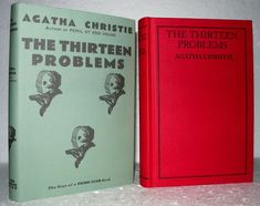 Agatha Christie - The Thirteen Problems. This Novel forms part of an issue of the Agatha Christie book Collection. Agatha Christie, Book Collection, Crime, Novels, Positivity, Author, Books, Ebay, Vintage