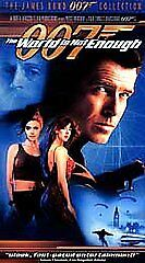 James Bond 007 The World Is Not Enough Vhs Movie Tape 1999 New