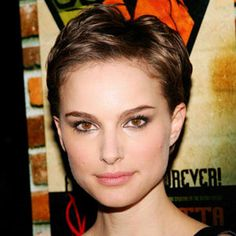 Natalie Portman pixie cuts