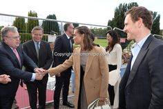 7-10-2016 Hollywood actor Michael Fassbender was honoured by his home town of Killarney on Friday evening when he was bestowed with the 'Order of Innisfallen' award for his contribution to tourism. Our photo shows Michael Fassbender and Alicia Vicander  being greeted by Geraldine and Michael Rosney at a civic reception in Muckross House, Killarney on Friday evening surrounded by trustees of Muckross House. <br /> Photo: Sally MacMonagle<br />  <br /> <br /> <br /> www.macmonagle.com