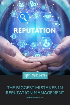 Here's a list of the biggest #OnlineReputationManagement mistakes! Content Marketing, Digital Marketing, Reputation Management, Management Tips, Mistakes, Presentation, Things To Come, Seo, Check