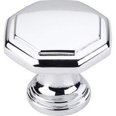Elements 424 Drake 1-3/8 Inch Diameter Geometric Cabinet Knob