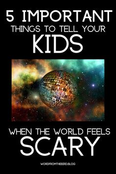 In a world that seems like it's turning upside down our kids will definitely notice. Talk with your kids about what's going on and give them what they need emotionally. Autism Parenting, Gentle Parenting, Kids And Parenting, Parenting Hacks, Resilience In Children, Common Sense Media, Christian Kids, Interactive Learning, What Goes On