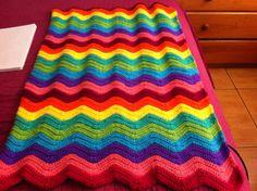 Manta zig zag multicolor