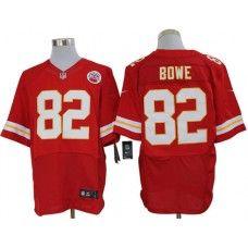 Nike Dwayne Bowe Jersey Elite Team Color Red Kansas City Chiefs #82