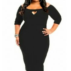 Sexy plus size bodycon dress Sexy black bodycon dress Dresses Midi