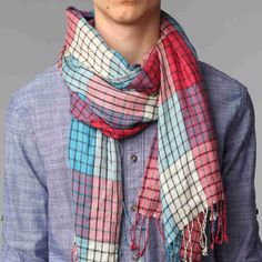 Scarfs can brighten anyone's day!