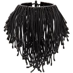 Monies cord tassel choker ($45) ❤ liked on Polyvore featuring jewelry, necklaces, tassel necklace, tassel jewelry, choker necklace, tassle necklace and choker jewellery