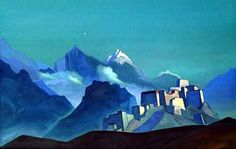 Nikolai Roerich's paintings of Tibet inspired HP Lovecraft's depiction of Antarctica in At the Mountains of Madness.