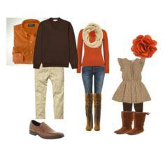Wardrobe ideas for fall family photos 2013